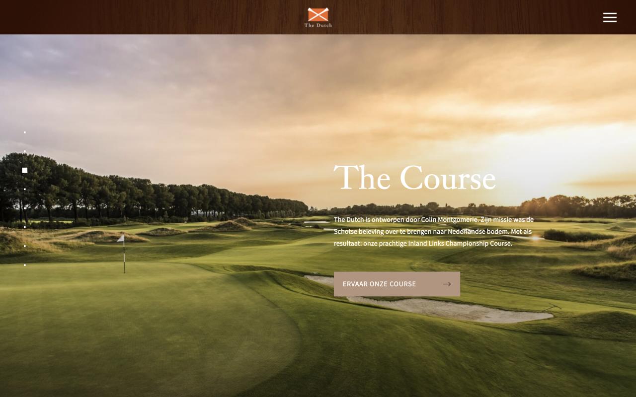 The Dutch homepage
